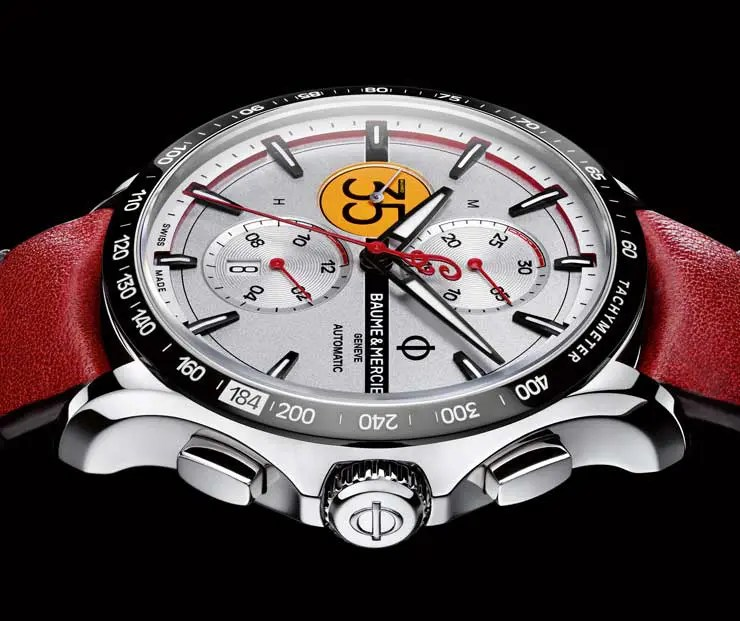 Baume & Mercier Clifton Club Burt Munro Tribute Limited Edition