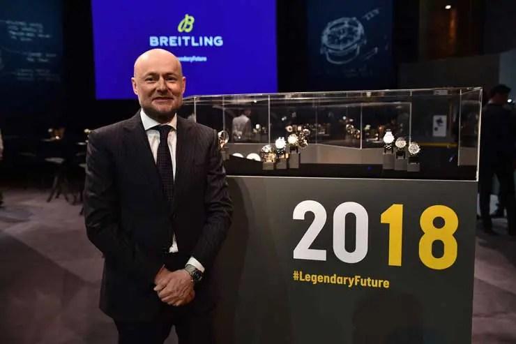 Georges Kern, seit Sommer 2017 CEO von Breitling