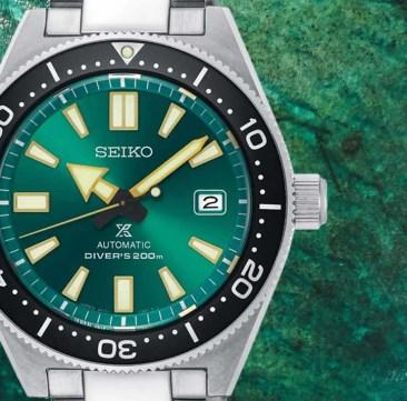 Seiko Prospex Automatik Divers Limited Edition: Alles im grünen Bereich