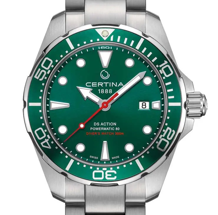 Certina DS Action Diver: Extra-Power für´s nasse Element
