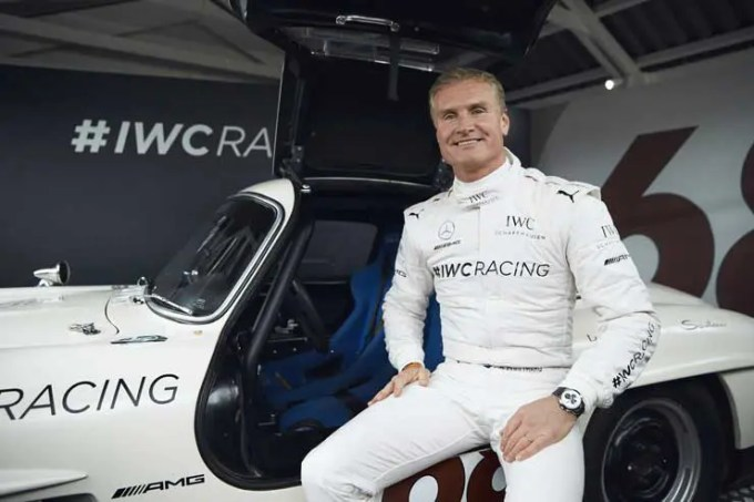 David Coulthard IWC Racing Team in Goodwood 2018