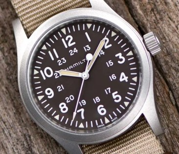 Baselworld Preview: Hamilton Khaki Field Mechanical 38 mm
