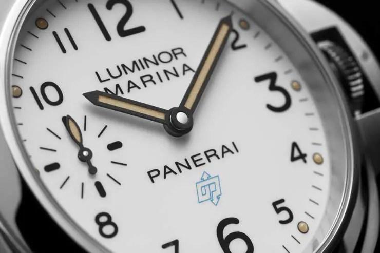 Neues Kaliber für Panerai Luminor Base Logo und Luminor Marina Logo