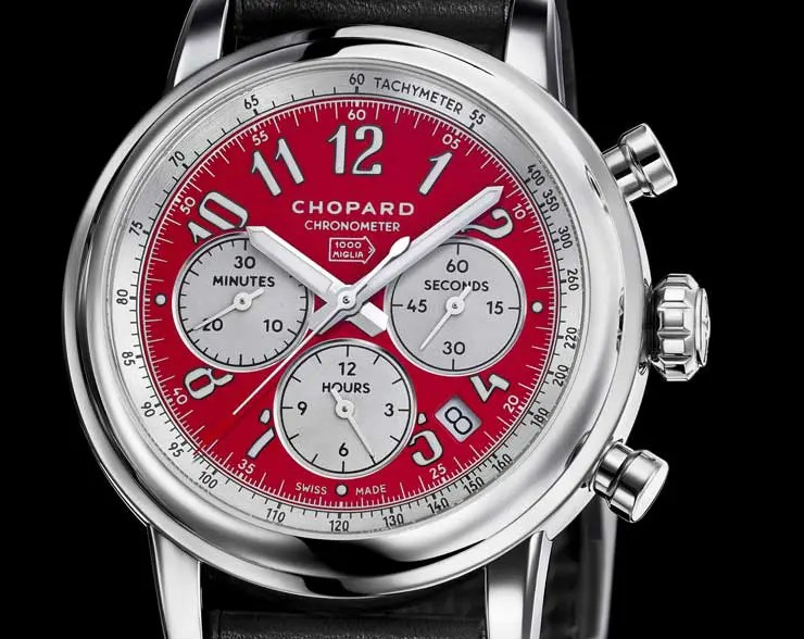 Racing in style: die Chopard Mille Miglia Racing Colours
