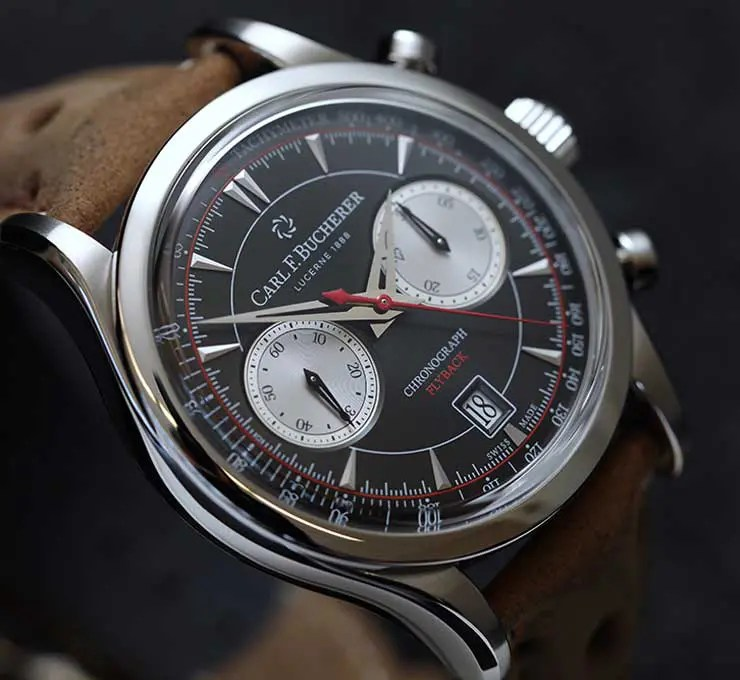 Manero Flyback Chronograph im Retro-Look