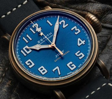 Zenith Pilot Type 20 Extra Special Chronograph Bronze Blue Dial