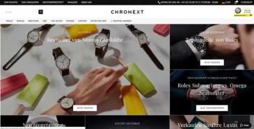 CHRONEXT kooperiert mit Omega, Longines & Co.