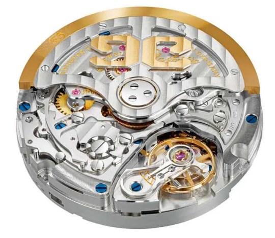 Senator Chronograph Panoramadatum mit Manufakturkaliber 37-01.