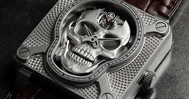 Bell&Ross BR 01 Laughing Skull
