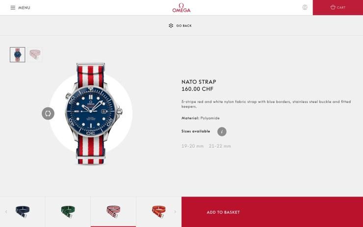 Omega NATO-Armbänder