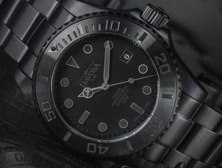 Davosa Ternos Pro Black Suit