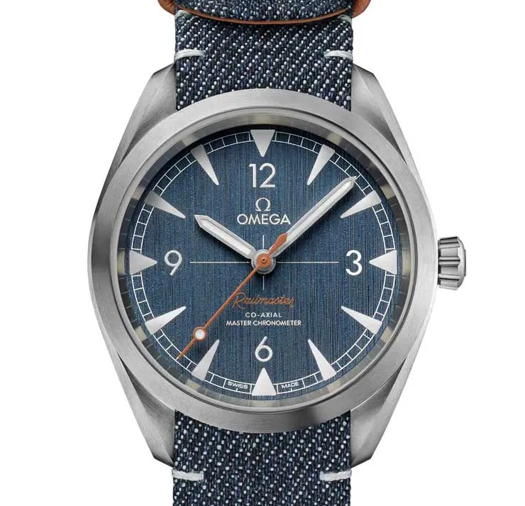 Put your Jeans on: Omega Railmaster Denim