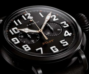 Zenith Pilot Type 20 Chronograph Ton Up Black