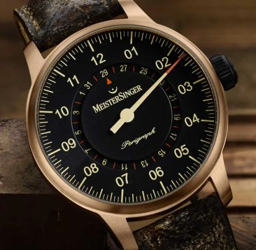 MeisterSinger Edition Perigraph Bronze 2018