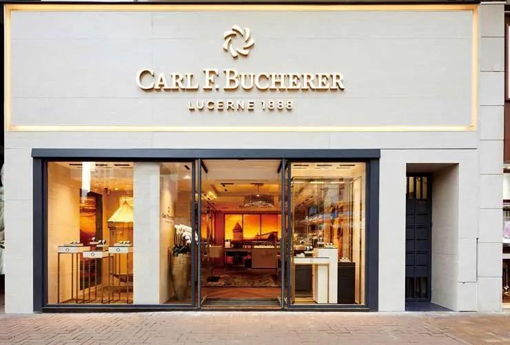 Neue Carl F. Bucherer Monomarken-Boutique in Hong Kong eröffnet