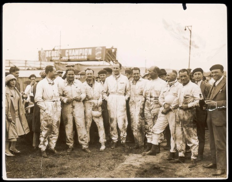Bentley Boys winning drivers from Le Mans 1929