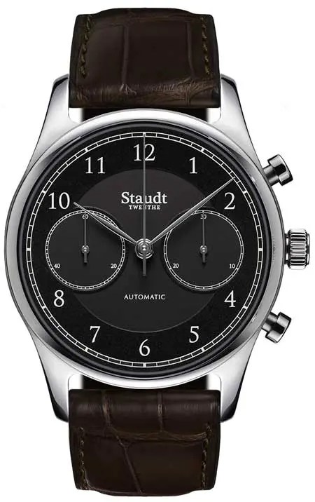 Staudt Praeludium Chronograph black