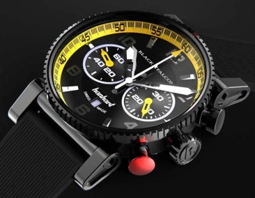 Hanhart Black Falcon Primus Race Winner limited edition