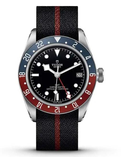 Tudor Black Bay GMT mit Natoband