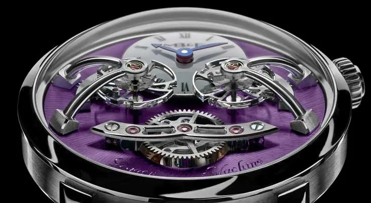 MB&F Legacy Machine No2 White Gold Purple