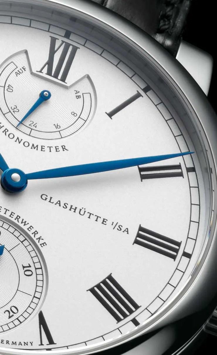 Wempe Glashütte Chronometerwerke Gangreserve