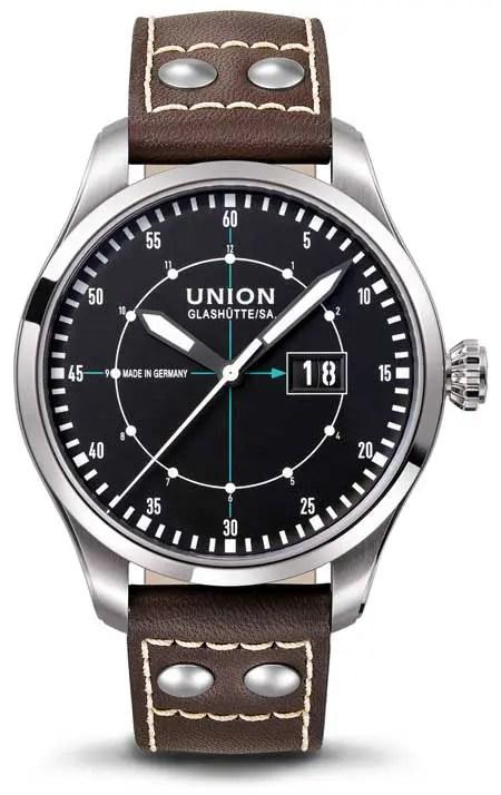 Belisar Pilot Großdatum von Union Glashütte