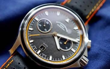 Wird für einen guten Zweck versteigert: Der ProMare Chronograph von Thilo Mühle mit der Serien-Nummer 0001.