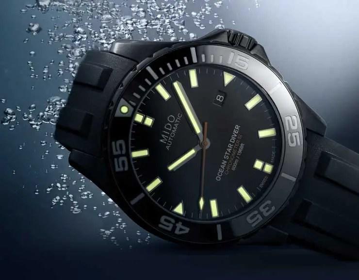 Mido Ocean Star Diver 600