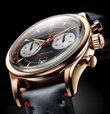 Jetzt auch im 18-Karat-Roségoldgehäuse: Manero-Flyback-Chronograph