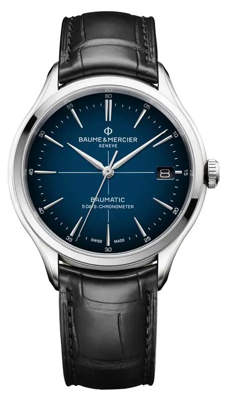 Clifton Baumatic Cadran Bleu