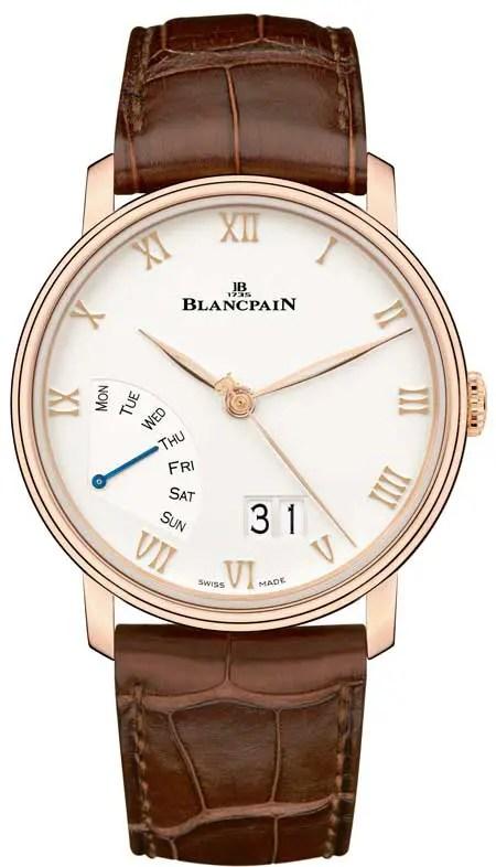 Blancpain Villeret Grande Date Jour Rétrograde