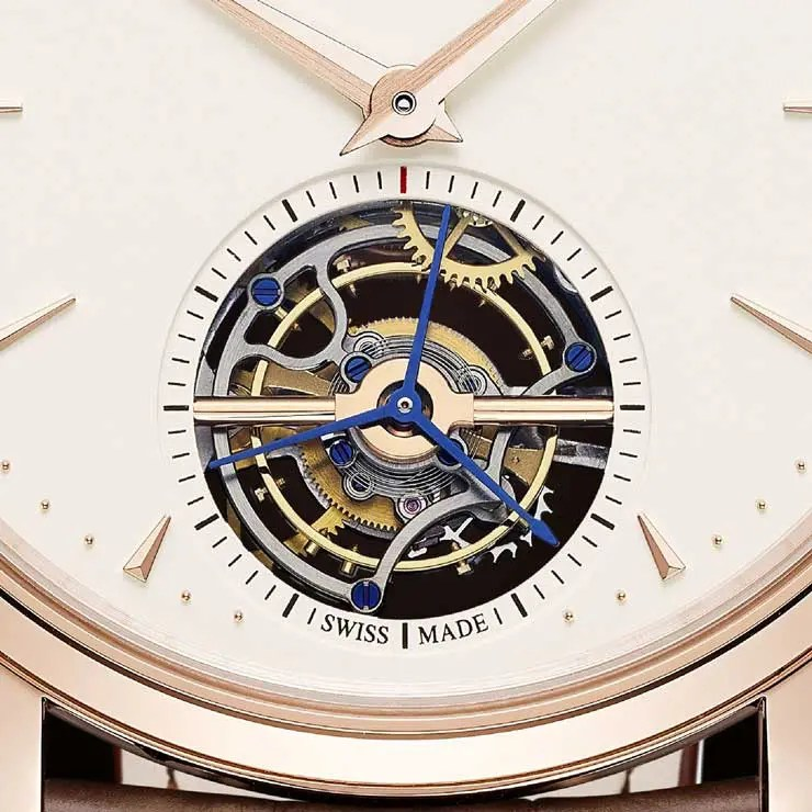 Jaeger-LeCoultre Master Ultra Thin Tourbillon in Rotgold