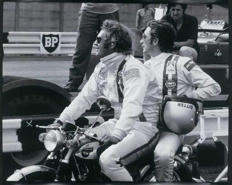TAG heuer Monaco, Steve McQueen und Jo Siffert
