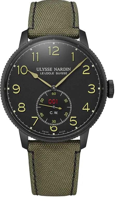 Ulysse Nardin Marine Torpilleur Military
