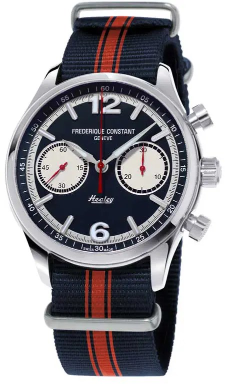 Frederique Vintage Rally Healey Chronograph
