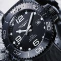 Longines HydroConquest all black Ceramic