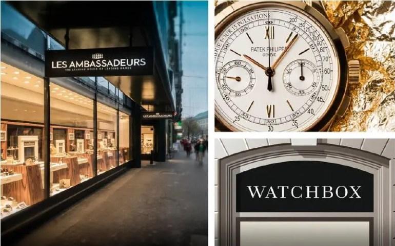 WatchBox gibt Partnerschaft mit Les Ambassadeurs bekannt