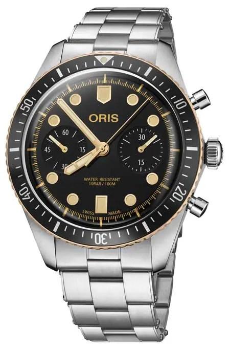 Oris Divers Sixty-Five Chronograph