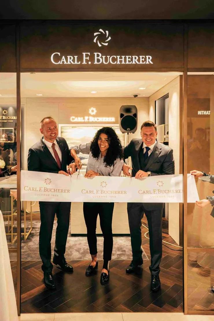 Carl F. Bucherer Boutique Interlaken nach aufwändiger Renovierung neu eröffnet
