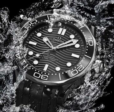 Omega Seamaster Diver 300M jetzt auch mit Gehäuse aus Keramik und Titan Grade 5