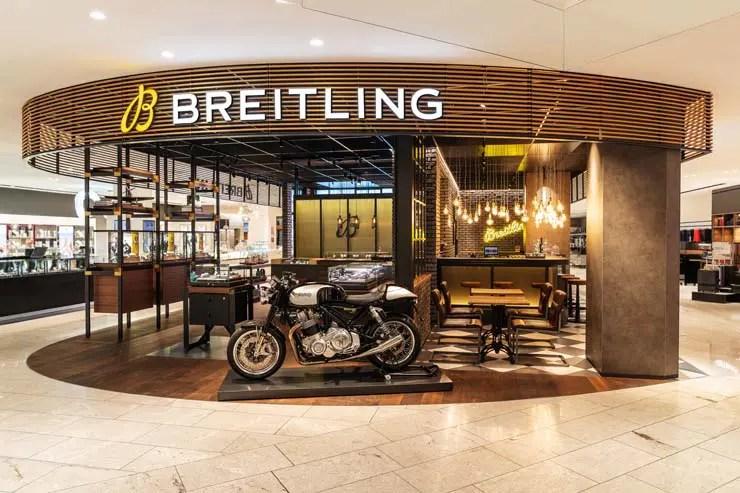 Breitling Boutique bei Jelmoli in Zürich