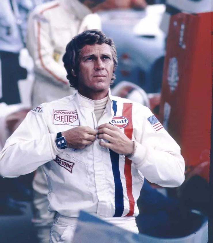 Steve McQueen und seine Heuer Monaco