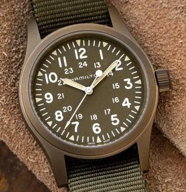Hamilton Khaki Field Mechanical: Military-Look neu aufgelegt