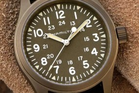 Hamilton Khaki Field Mechanical: Military-Look neu aufgelegt