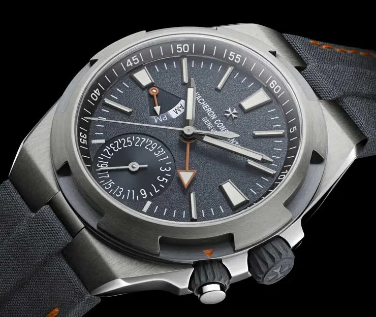 Vacheron Constantin Overseas Dual Time Prototyp am Mount Everest