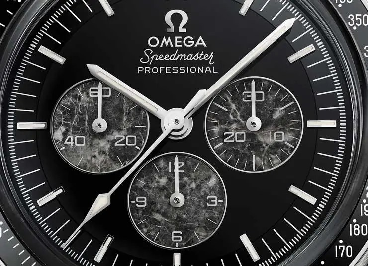 Omega Speedmaster Moonwatch Platinum mit Kaliber 321