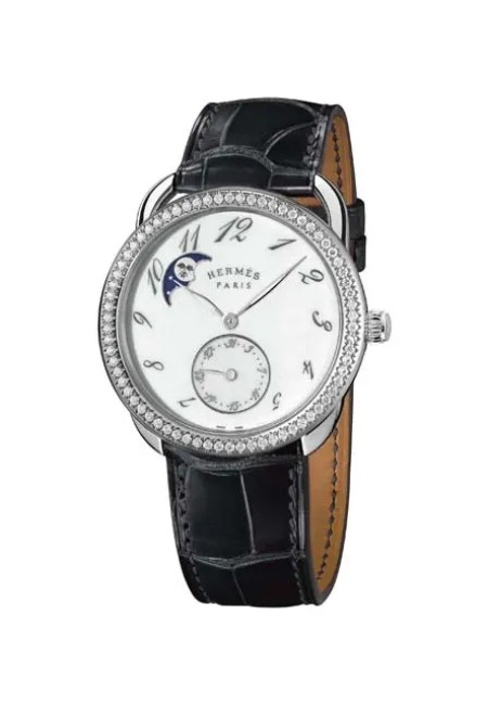 Arceau Petite Lune with diamonds black copyright Calitho
