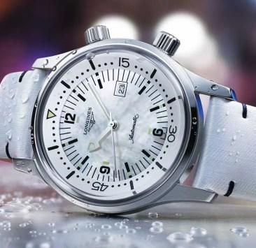 The Longines Legend Diver Watch mit neuen 36mm-Varianten