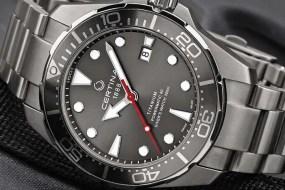 Certina DS Action Diver Titan: die Leichtigkeit des Seins