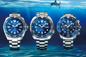 Neue Seiko Save the Ocean Modelle in frischem Design